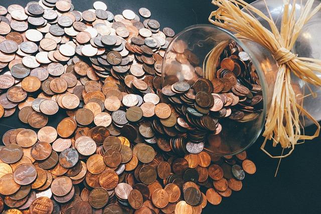 mince peníze
