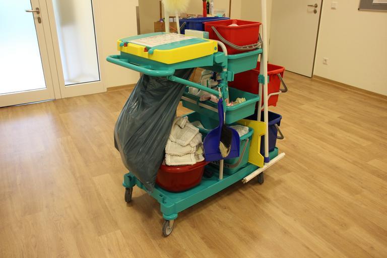 uklízecí vozík
