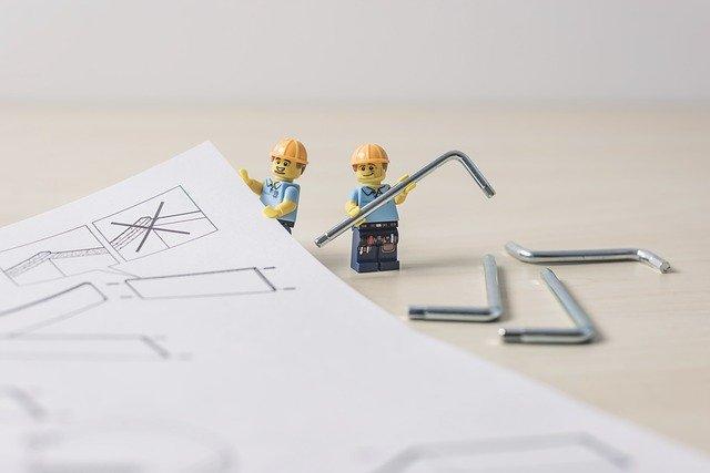 řemeslníci, návod, montáž